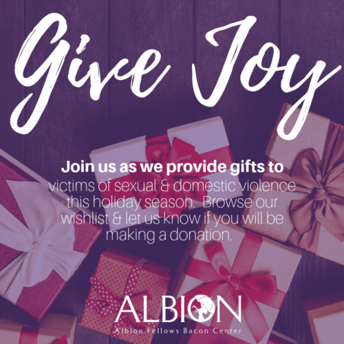Holiday Giving Albion