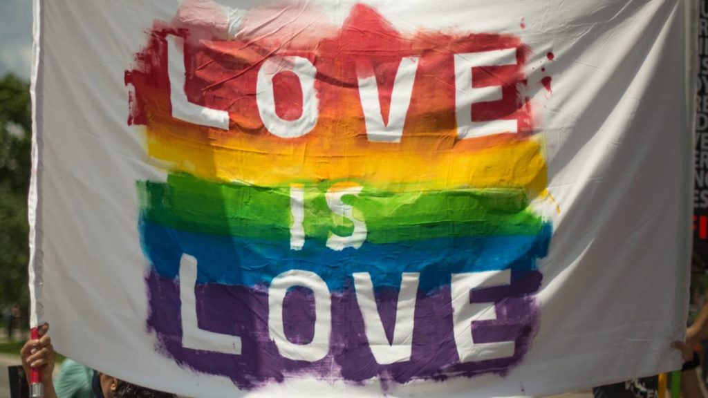 LGBTQ Youth Love Is Love Image